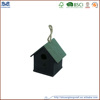 eco-friendly unfinished small wood crafts wooden bird house for home decoration