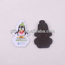 embossed animal shape pvc magnet