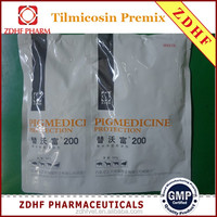 ZDHF animal drugs long acting Tilmicosin premix pigs medicine