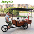 Europe style three wheel mobile coffee carts for sale