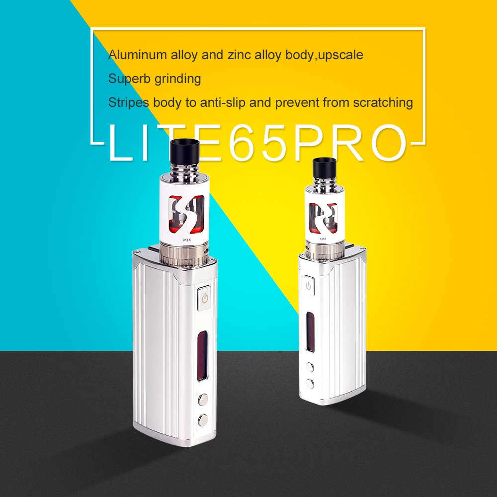 18650 temperature control e cigarette 2016 best new Lite 65 pro 18650 65w temperature control e-cig mod