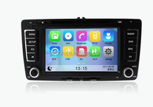 7 inch 4.4.2 android car dvd player for Skoda Octavia 2013 1024*600 optional WS-9538