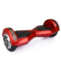 LED light Bluetooth two wheel smart self balancing electric scooter hover board