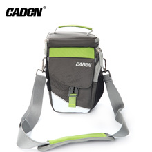Caden brand high quality waterproof polyester material dslr camera sling shoulder bag