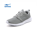 trendy young fashion breathable mesh grey black red lighweight ERKE mens running shoes 2017