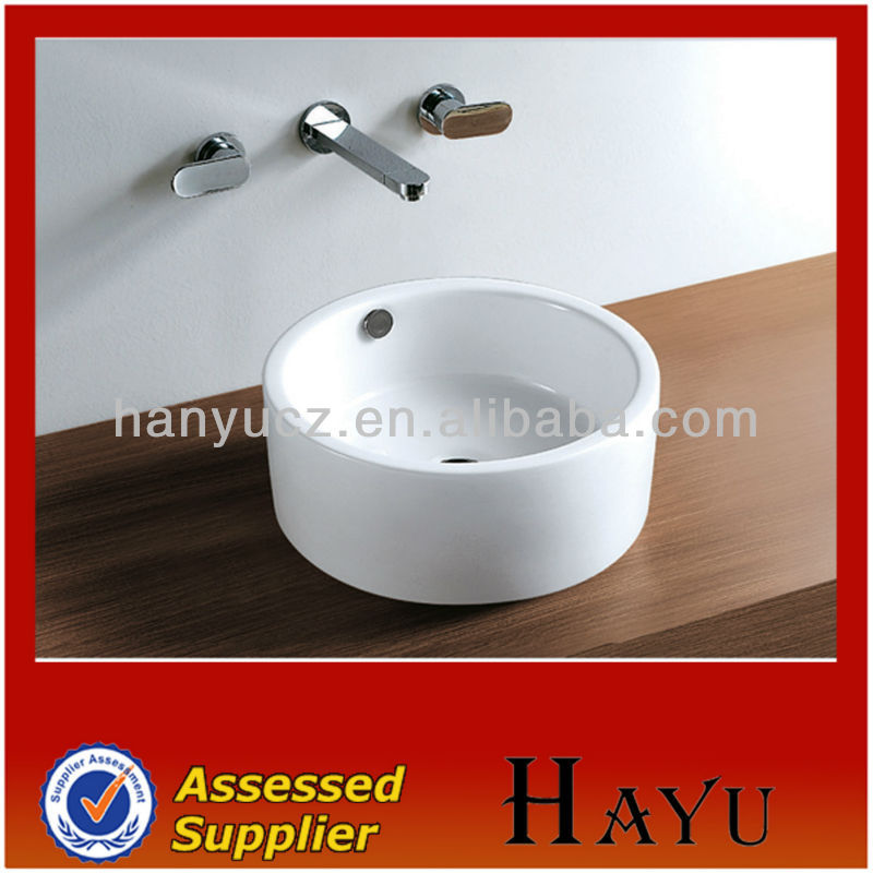HY-408 classical design ceramic hairdressing sinks