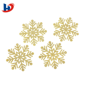 China cheap price colorful felt snowflake decoration