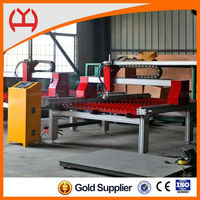 Bilateral drive stable desktop cnc plasma/flame metal cutting machine with Power-off Memory Function