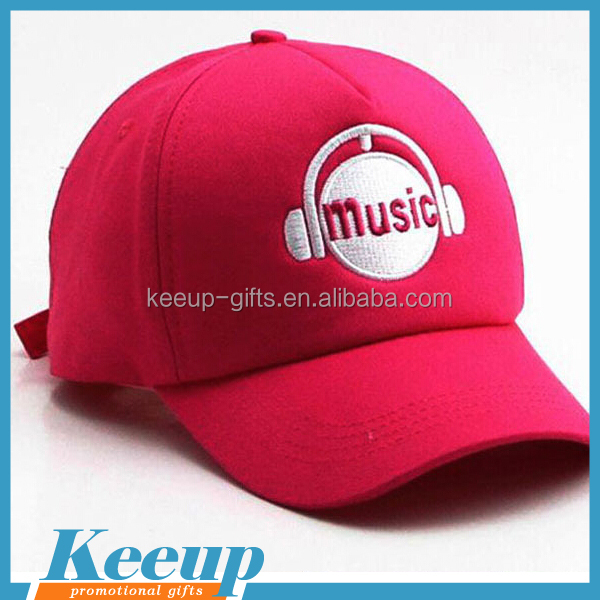 Custom Embroidered Logo printing sports base ball cap in 2017