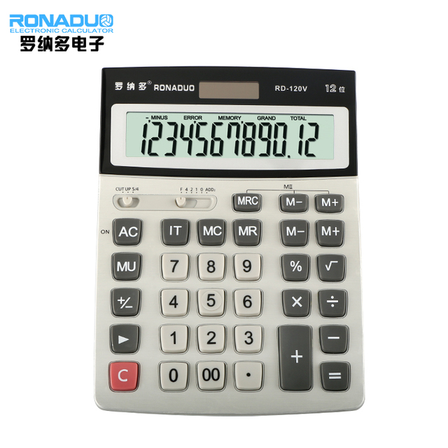 solar desktop multifunctional calculator multi-functional desktop calculator