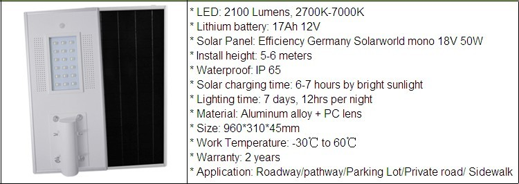 Shenzhen Intefly all in one led solar street light integrated solar street light Galvanized Pole Solar Street Light