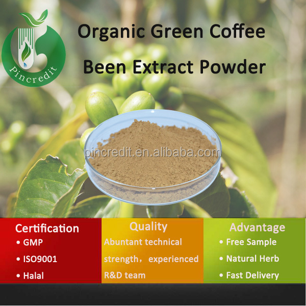 Pure Green Coffee Bean Extract/Free Sample Green Coffee Bean Extract/Organic Green Coffee Bean Extract Powder