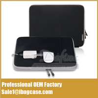 Black Neoprene Sleeve Case For Ipad