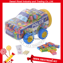 Car Tutti-frutti Magic Stick Bubble Gum with Tattoo