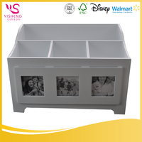 Promotion or Gift elegant white jewelry box , wooden jewelry box wholesale , jewelry box