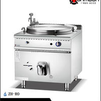 Gas Indirect Jacketed Boiling Pan Kitchen