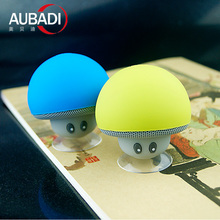 personality wireless mini mushroom bluetooth speaker with microphone
