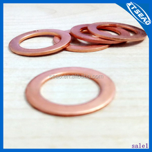 Manufacturer china crush metal copper washer /din flat spring washer
