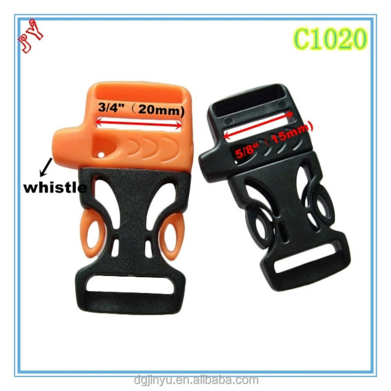 colorful webbing strap plastic buckle/press buckle/plastic double adjustable buckle for bracelet