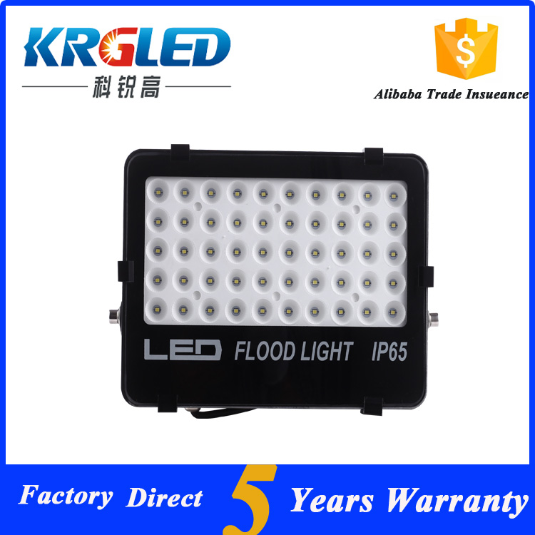 Outdoor Led Wall New Style Energy Conservation LED Flood Light Housing with 62000 hours 50 watt led flood light