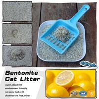 Best Clean Sample Free Lemon Fragrance Cat Litter Wholesale