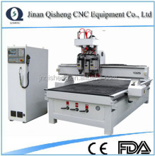 Hot sale and high quality QS 1325 atc cnc router multi woodworking machine