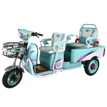 cheap fashion 3 wheel passenger two seats bike adult tricycle