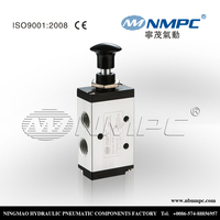 4R210-08 electromagnetic solenoids pull push ,1/4 inch manual vent valve