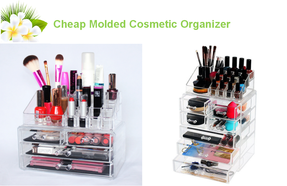 cheap acrylic makeup storage box