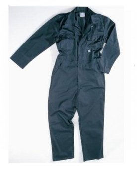 Blue Stud Fronted Coverall