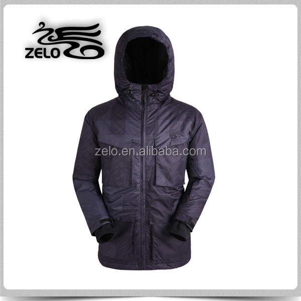 Outdoor cotton padded winter anorak
