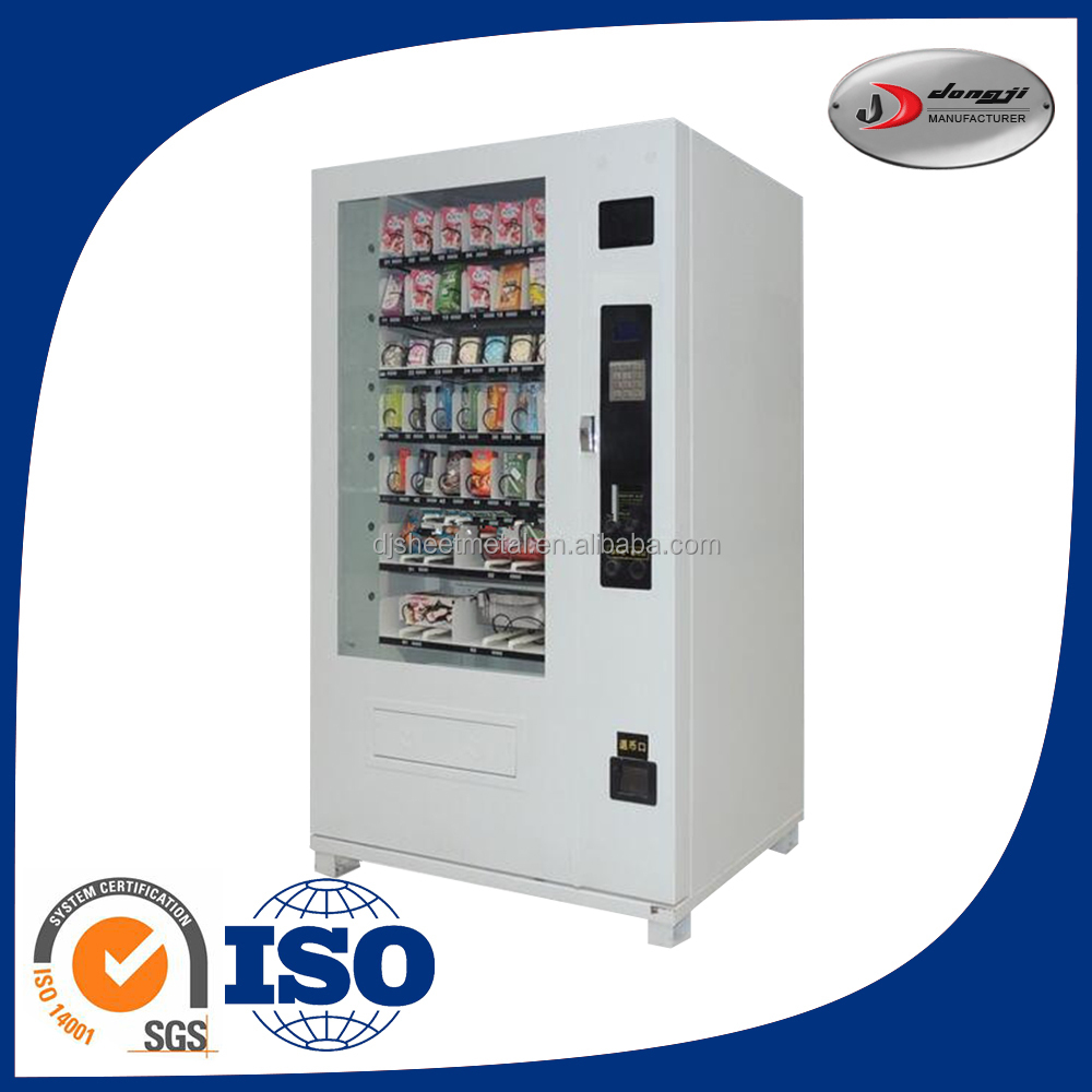 Hot sale OEM coin operated vending machines in school
