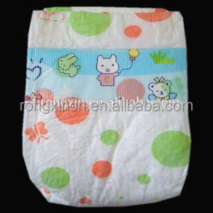 Baby Nappies Disposable Baby Diapers Exported to Africa Baby Diaper Manufacturers in China