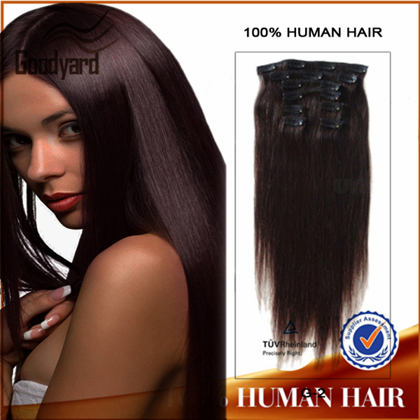 New product double drawn wholesale cheap price colored ombre 150g remy clip in hair extension