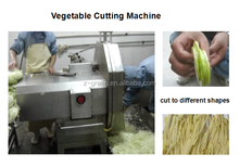 Fruit and vegetable slicing,strip cutting and dicing machine with different blades