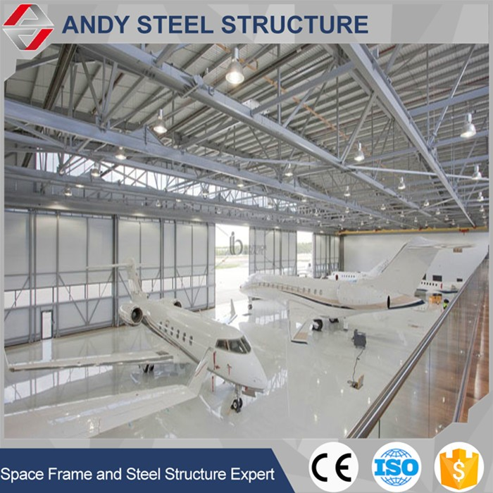high rise construction design building steel structure aircraft hangar