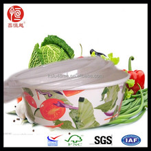 Recycled Food and Fruit Paper Salad Bowl Set Salad Restaurant