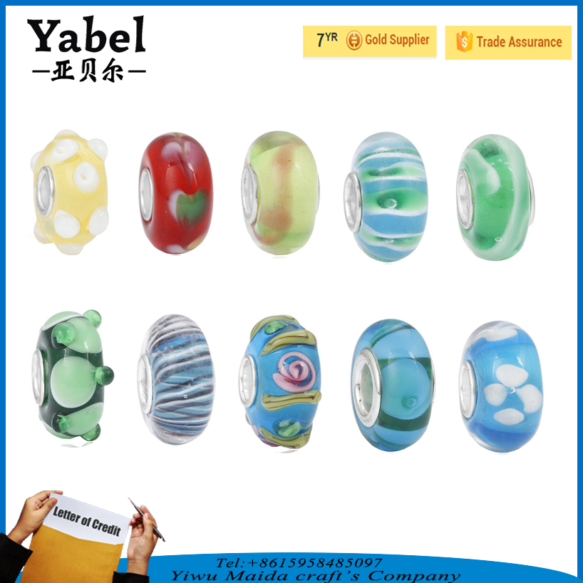 Hot sell bead cages pendants plastic tube beads DIY beads