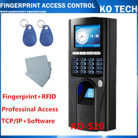 Free Shipping KO-S20 Fingerprint RFID Pin Access Control With Wiegand And TCP/IP