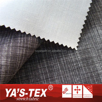 4 Way Stretch 100% Polyester Yarn Dyed TPU Laminated Fabric For Outdoor Sportswear