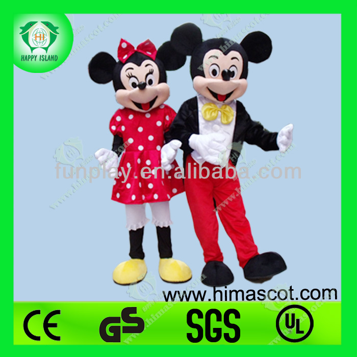 Mickey Minnie Cartoon Character Mascot Costume
