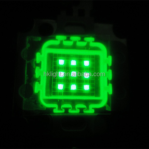 10w led 12v green high power led lamp light source module