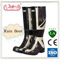 natural rubber woman boot/rain boot/rubber rain boot for sale