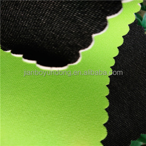 2~5mm high quality SBR/SCR/CR/EVA neoprene anti---skid fabric