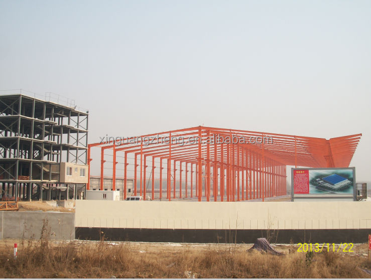 easy to install prefab steel framed buildings steel frame structure design