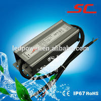 IP66 0-10v dimming constant current waterproof 3000ma dimmable led driver 100w