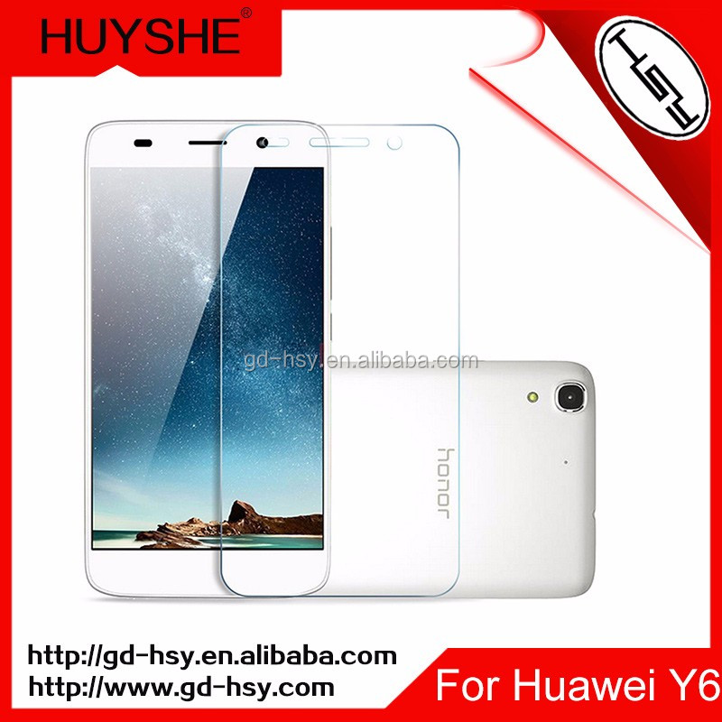 Screen Protective Film for Mobile Phone Huawei Y6/Touch Screen Glass Film Tempered Glass Screen Protector for Huawei Y6 5''
