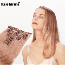 full head cheap colored clip in hair extensions