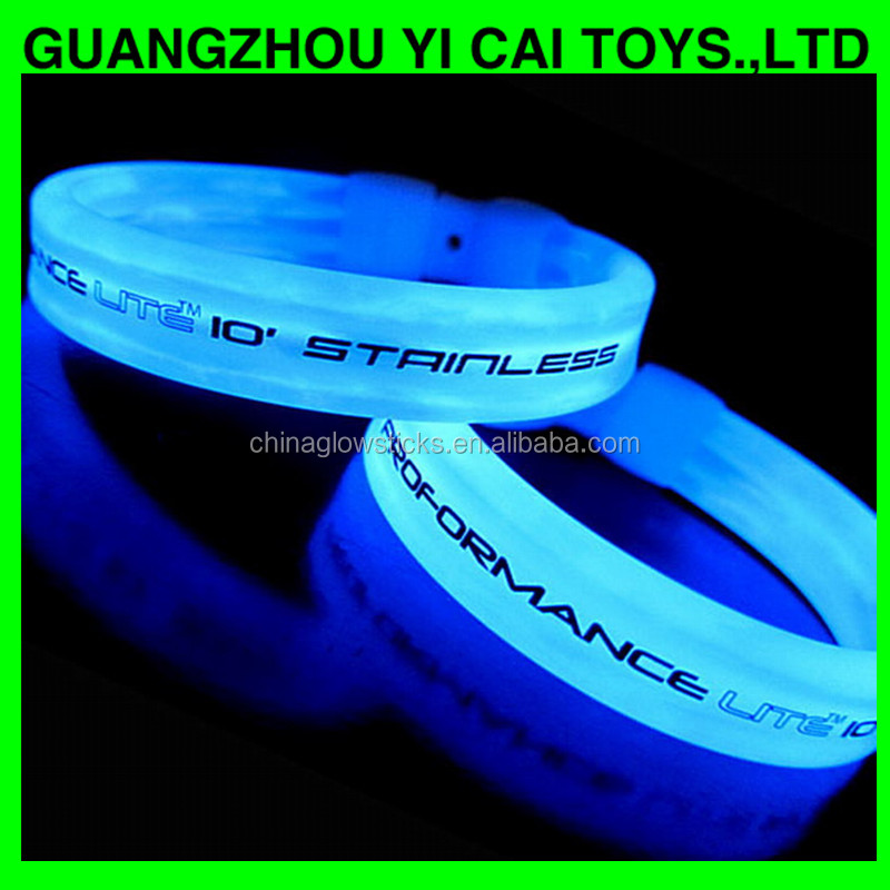 china manufacturer glow sticks concert glow bracelet halloween light bracelet