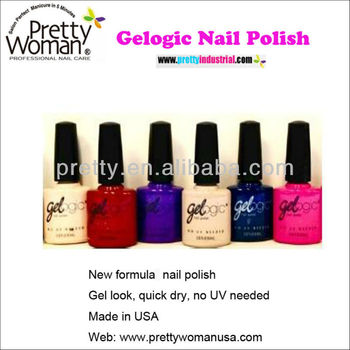 New Formula Gel Nai Polish Quick Dry No UV Needed Easy Nail Art At home Nail Products